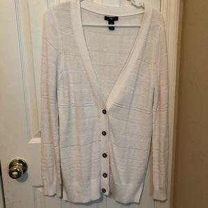 GAP Sweaters - Gap white cardigan